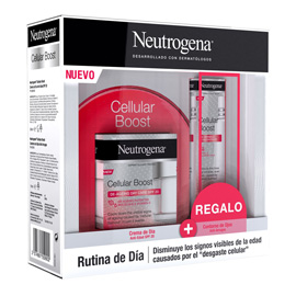 NEUTROGENA CELLULAR BOOST RUTINA DE DIA
